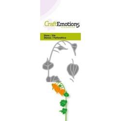 (115633/0227)CraftEmotions Die - lantern plant 3D