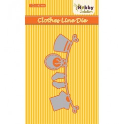 (HSDJ029)Hobby Solutions Dies Baby-serie Clothesline
