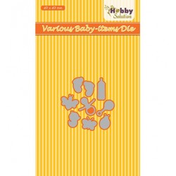 (HSDJ031)Hobby Solutions Dies Baby-serie Various baby-items