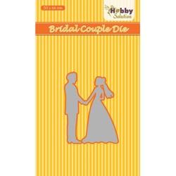 (HSDJ032)Hobby Solutions Dies Bridal couple