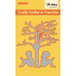 (HSDJ034)Hobby Solutions Dies Cosily under a tree