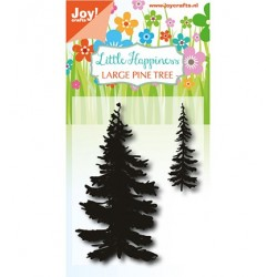 (6410/0488)Clear stamp LH - Pine Tree
