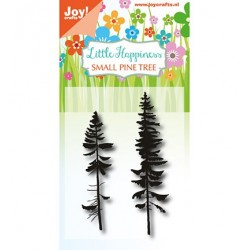 (6410/0489)Clear stamp LH - Small Pine Tree