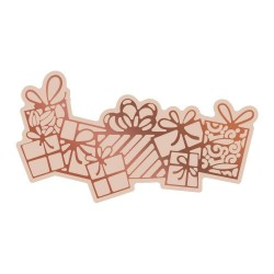 (CO726307)Couture Creations Highland Christmas Cut, Foil & Emboss Die Flurry of Presents