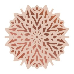 (CO726308)Couture Creations Highland Christmas Cut, Foil & Emboss Die Poinsettia Doily