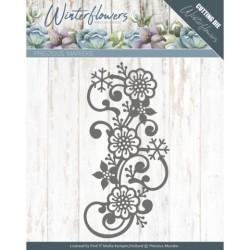 (PM10142)Dies - Precious Marieke - Winter Flowers - Snowflake flower swirl