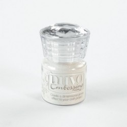 (599N)Tonic Studios Nuvo embossing powder glitter shimmering pearl