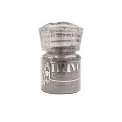 (601N)Tonic Studios Nuvo embossing powder classic silver
