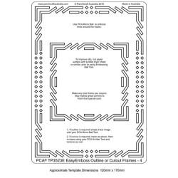 (TP3523E)PCA® - EasyEmboss Outline or Cutout Frames 4