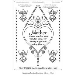 (TP3524E)PCA® - EasyEmboss Mothers Day Heart