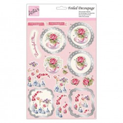 (ANT 169899)Anita's Foiled Decoupage Wonderful Mum