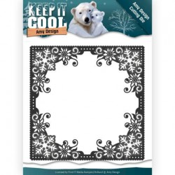 (ADD10158)Dies - Amy Design - Keep it Cool - Cool Square Frame