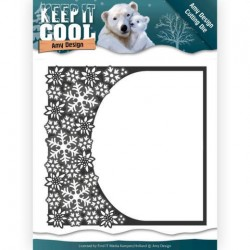 (ADD10159)Dies - Amy Design - Keep it Cool - Cool Rounded Frame