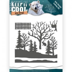 (ADD10160)Dies - Amy Design - Keep it Cool - Cool Forest
