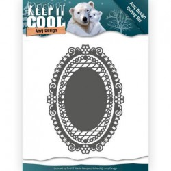 (ADD10161)Dies - Amy Design - Keep it Cool - Keep it Oval