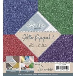 (CDEPP002)Glitter Paperpack 2