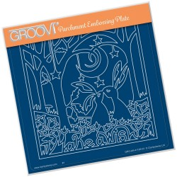 (GRO-AN-41106-03)Groovi Plate A5 MAKE A WISH