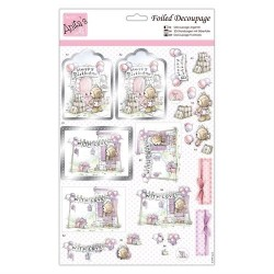 (ANT 169766)Anita's Foiled Decoupage Birthday Surprise