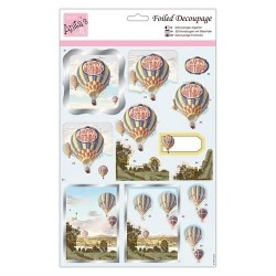 (ANT 169767)Anita's Foiled Decoupage Birthday Balloons