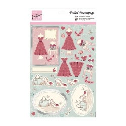 (ANT 169536)Anita's Foiled Decoupage Dressing Up