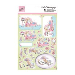 (ANT 169537)Anita's Foiled Decoupage Relax