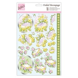 (ANT 169846)Anita's Foiled Decoupage Spring Service