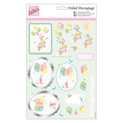 (ANT 169854)Anita's Foiled Decoupage Birthday Fun