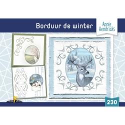 (HD230)Hobbydols 230 Borduur de Winter - Annie Hendricks