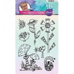 (STAMPDS02)Studio light Stamps Diny s Signature Collection nr.02