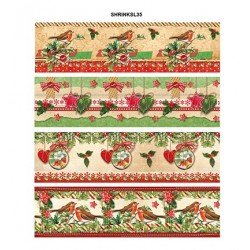 (SHRINKSL35)Sleeves, Classic Christmas nr.35