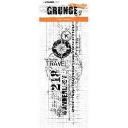 (STAMPSL337)Studio light Stamp Grunge Collection, nr.337