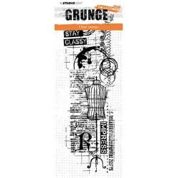 (STAMPSL338)Studio light Stamp Grunge Collection, nr.338
