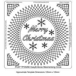 (TP3526E)PCA® - EasyEmboss Mesmerising Circle Frame