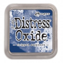(TDO55884)Tim Holtz distress oxide chipped sapphire
