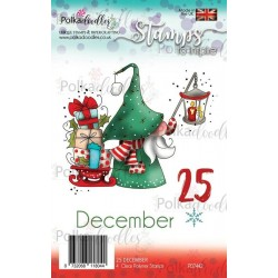 (PD7442)Polkadoodles Gnome 25 December Clear Stamps