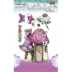 (PD7259)Polkadoodles Whats Up Buttercup Clear Stamps
