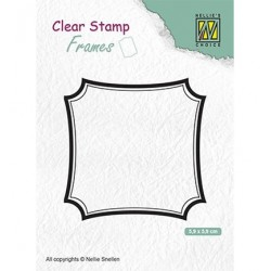 (CSFR001)Nellie`s Choice Clearstamp - Frames Square