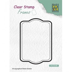 (CSFR002)Nellie`s Choice Clearstamp - Frames Rectangle
