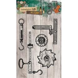 (STAMPIN317)Studio light Stamps Industrial 3.0, Nr. 317