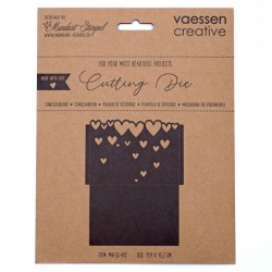 (MV-SS-412)Vaessen Creative  Cutting die packaging with hearts