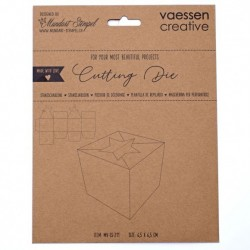 (MV-SS-211)Vaessen Creative  Cutting die box with star