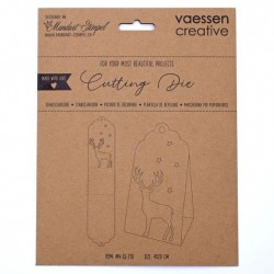 (MV-SS-210)Vaessen Creative  Cutting die box with deer