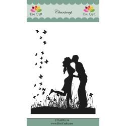 (STAMP0134)Dixi Craft Love Clear Stamp