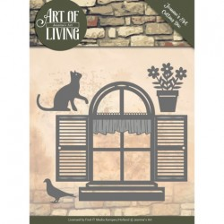 (JAD10054)Dies - Jeanine's Art - Art of Living - Home Sweet Home