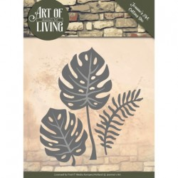 (JAD10055)Dies - Jeanine's Art - Art of Living - Leaves