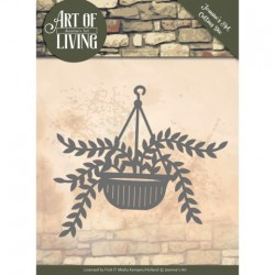 (JAD10056)Dies - Jeanine's Art - Art of Living - Hanging Plant