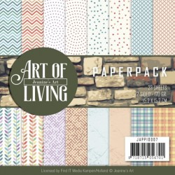 (JAPP10007)Paperpack - Jeanine's Art - Art of Living