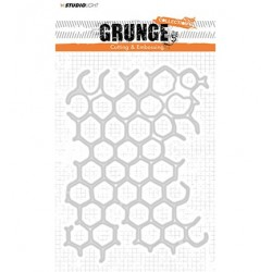 (STENCILSL149)Studio Light Cutting and Embossing Die, Grunge Collection nr.149