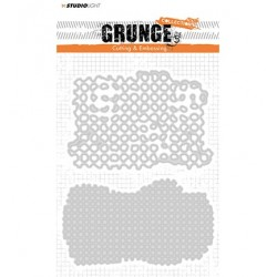 (STENCILSL150)Studio Light Cutting and Embossing Die, Grunge Collection nr.150