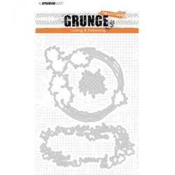 (STENCILSL152)Studio Light Cutting and Embossing Die, Grunge Collection nr.152